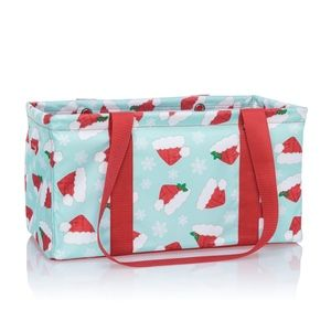 Thirty-One Medium Utility Tote - Hats Off Holiday